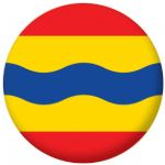 Overijssel Region Flag 25mm Pin Button Badge